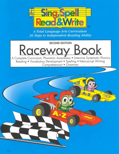 raceway book student edition sing spell read and write 641 | 9781567045055