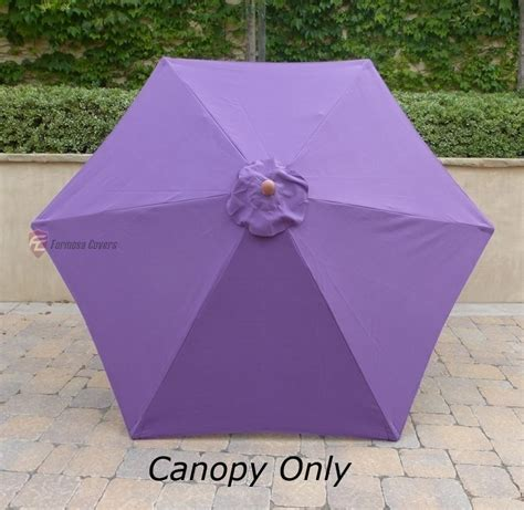 patio umbrella canopy replacement 6 ribs 8ft 9ft patio outdoor market umbrella replacement canopy cover