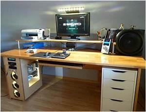 Gaming Schreibtisch Selber Bauen : gaming tisch 5639 gamer schreibtisch innen phantasievolle inspiration gaming tisch ~ Markanthonyermac.com Haus und Dekorationen