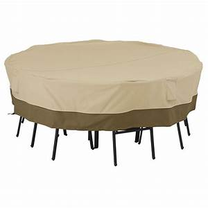 Classic accessories veranda large square patio table and for Patio furniture covers for square tables
