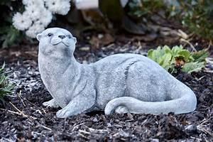 Garten Lampions Wetterfest : steinfigur otter frostfest garten deko steinguss wetterfest gartenfigur ebay ~ Frokenaadalensverden.com Haus und Dekorationen