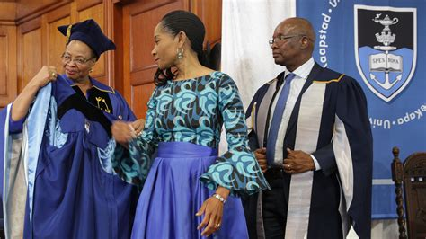 uct vice chancellors robing ceremony   special