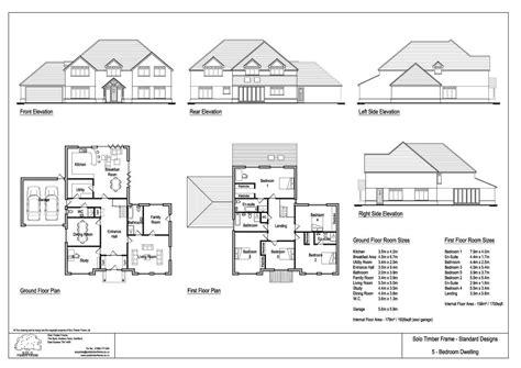 5 bedroom 1 house plans vachery 5 bedroom house design timber frame