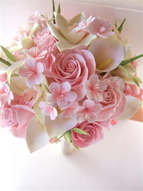 cherry blossom bouquet bridal bouquet brautstraeusse