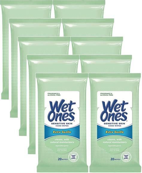 Amazon.com: Wet Ones Sensitive Skin Hand Wipes, Extra