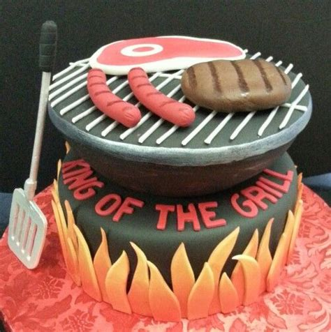 birthday bbq bbq grill themed cake cakes by tonya george pinterest themed cakes cakes and bbq grill