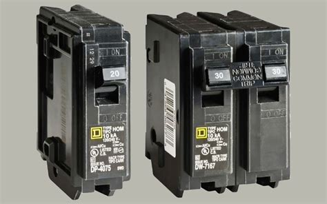 Types Circuit Breakers The Home Depot