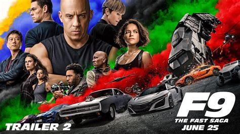 The film stars vin diesel, michelle rodriguez, tyrese gibson, chris ludacris bridges, john cena. New F9 trailer really is fast and furious - - Gamereactor