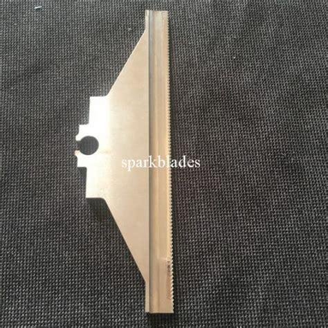 hss packaging machine blade  food industry plastic bag film cutting sparkblades maanshan