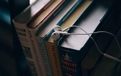 Education Books Headphones 4k Background Ultra 1080p