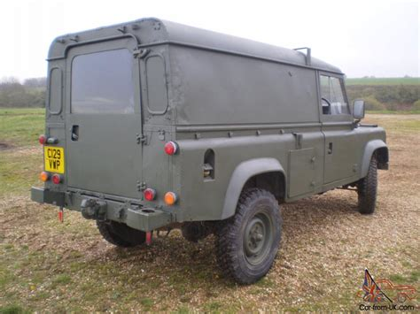 land rover military defender land rover military defender 110 12v 24v ffr hardtop 2 5