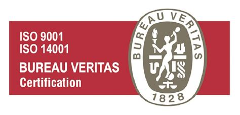 logo bureau veritas certification iso 9001 2008 and iso 14001 2004