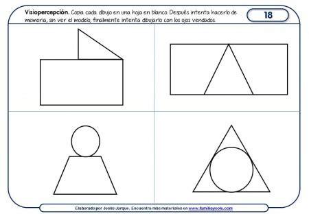 actividades de la percepcion actividades para mejorar la percepci 243 n visual la canopea