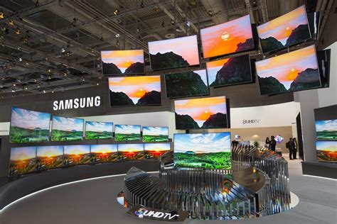 curved tv televisions samsung gimmick tvs ifa