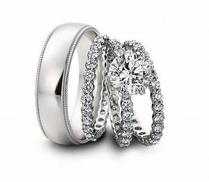 gallery his hers wedding bands sets matvukcom With his and her matching wedding rings sets