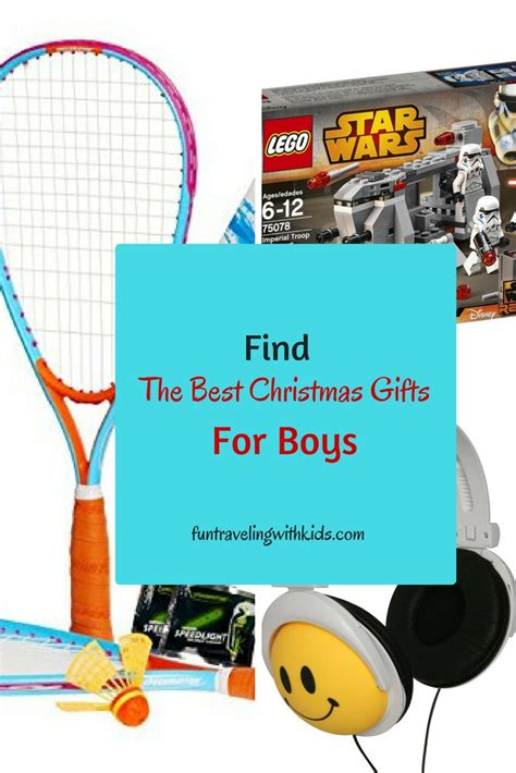 the best christmas gifts for boys age 6 to 11 fun