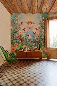 Fresque Murale Papier Peint : papier peint intiss les fresque de catalina estrada ~ Melissatoandfro.com Idées de Décoration