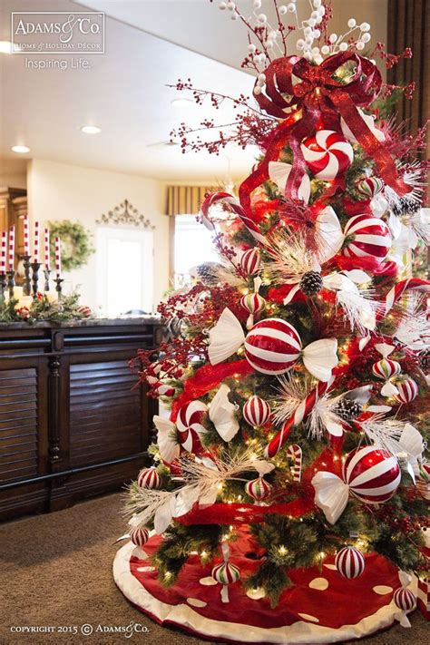 Tree Decorating Themes - tree co peppermint tree 2015
