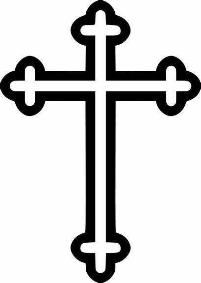 Cross Christian Symbol Svg Byzantine Religion Icon