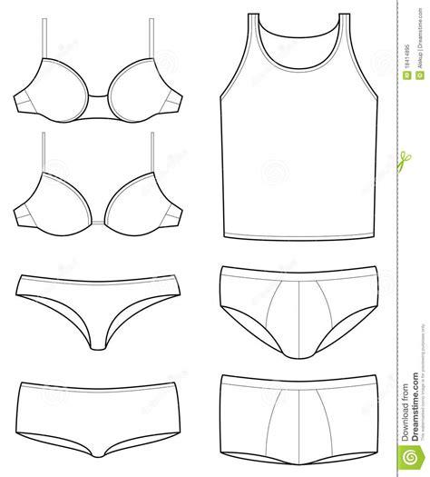 underwear templates royalty  stock photo image