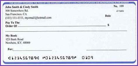 blank check template printable sle blank check beneficialholdings info