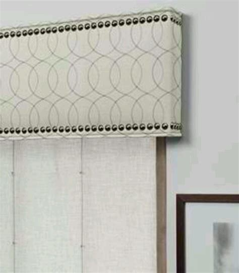 cornice board valance do it yourself cornice window treatments
