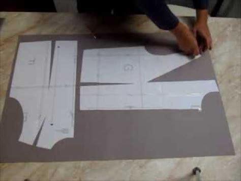 c 243 mo pasar un molde de costura a papel m 225 s grueso youtube