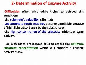 Enzymetic Analysis