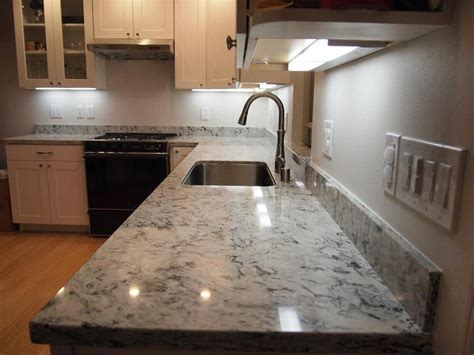 Praa Sands countertop w/white cabinets   Our house