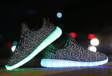Yeezy Light Up Shoes by Light Up Led Adidas Yeezy Boost 350s Are Being Sold