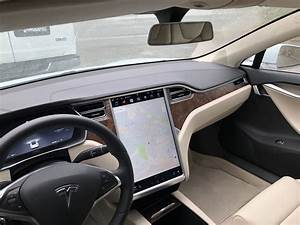"""Tesla S3XYR Owners Club on Twitter: """"New cream interior on my loaner. Has the new lighted vanity ..."""