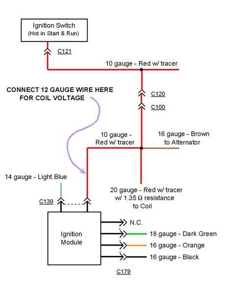 chevy 350 hei wiring diagram wiring diagram and schematics
