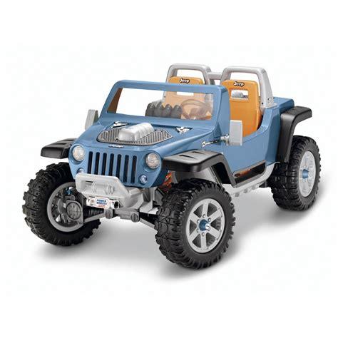 power wheels jeep white ride on jeep hurricane