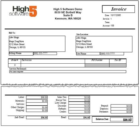 invoicing highwiki