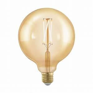 E27 Led Leuchtmittel : leuchtmittel e27 led g125 4w amber 1700k 1stk ~ Watch28wear.com Haus und Dekorationen