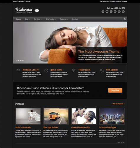 Website Themes 35 Excellent Themes Want Your Website To