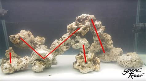 Aquascaping Live Rock Ideas by Reef Rock Aquascape How To Drill And Cement Your Live