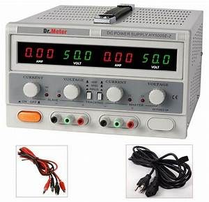Switching Dual Linear Dc Power Supply 50v 5a Digital