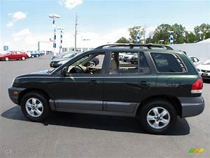 Hyundai Santa Fe 2006 : 2006 dark emerald green hyundai santa fe gls 4wd 34392042 car color galleries ~ Medecine-chirurgie-esthetiques.com Avis de Voitures