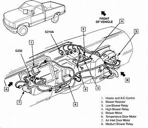 1991 Chevy 4x4 Actuator Diagram