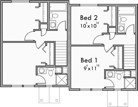 duplex house plans small duplex house plans narrow