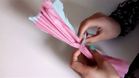 comment faire une fleur en papier cr 233 pon 1 232 re vid 233 o s 233 rie diy