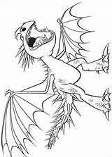 Stormfly Coloring Pages Dragon Train Getdrawings sketch template
