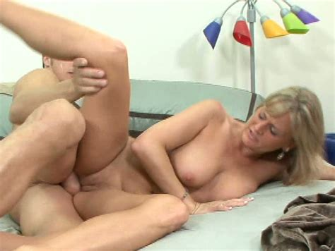 Becca Blossomes Curvy Blonde Milf Gets Her Hairy Pussy Banged