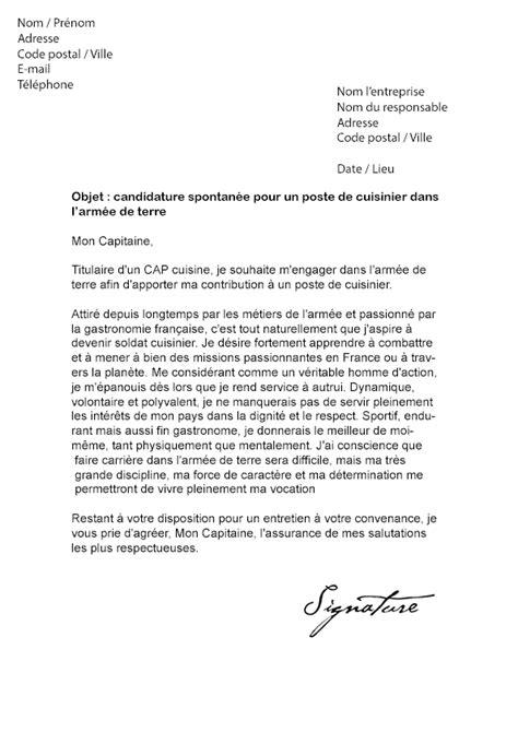 lettre motivation cuisine collectivité lettre de motivation cuisinier modèle de lettre motivation