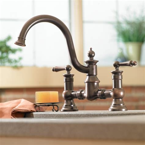 amazon com kitchen faucets moen s713 waterhill two handle high arc kitchen faucet