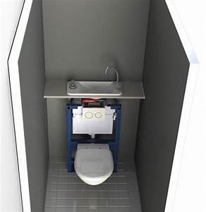 Lave Main Suspendu : wc suspendu avec lave mains compact galerie page 2 ~ Nature-et-papiers.com Idées de Décoration