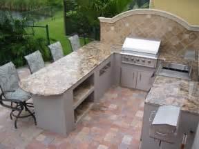 outdoor kitchen backsplash photos