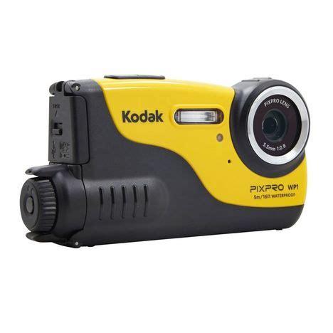 appareil photo compact etanche kodak wp1 jaune kodak pas cher 224 prix auchan
