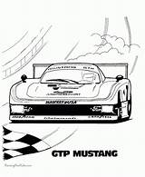 Coloring Race Cool Cars Sheet Everfreecoloring sketch template